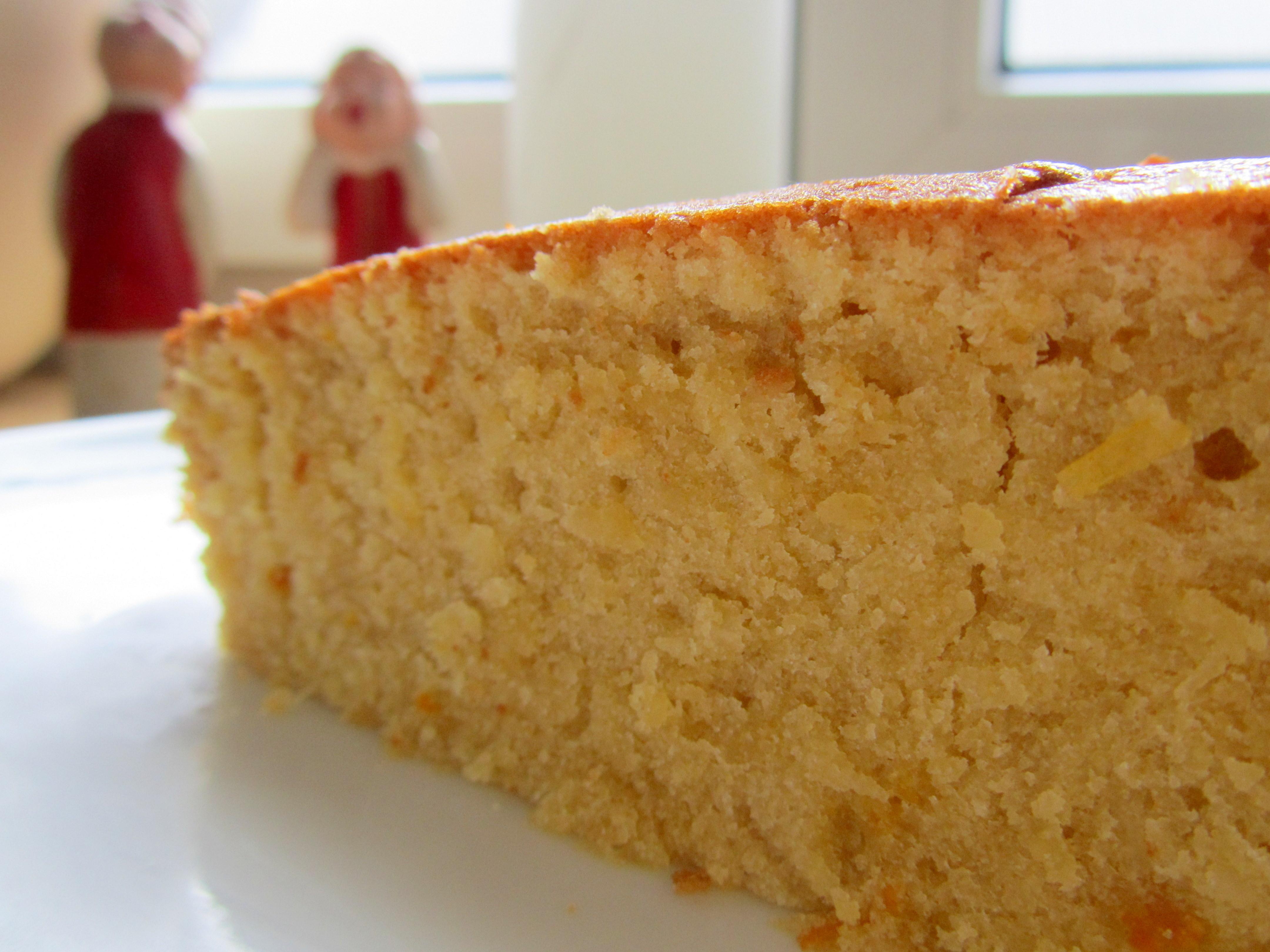 Mandarin orange coconut cake | Caramelised Blog