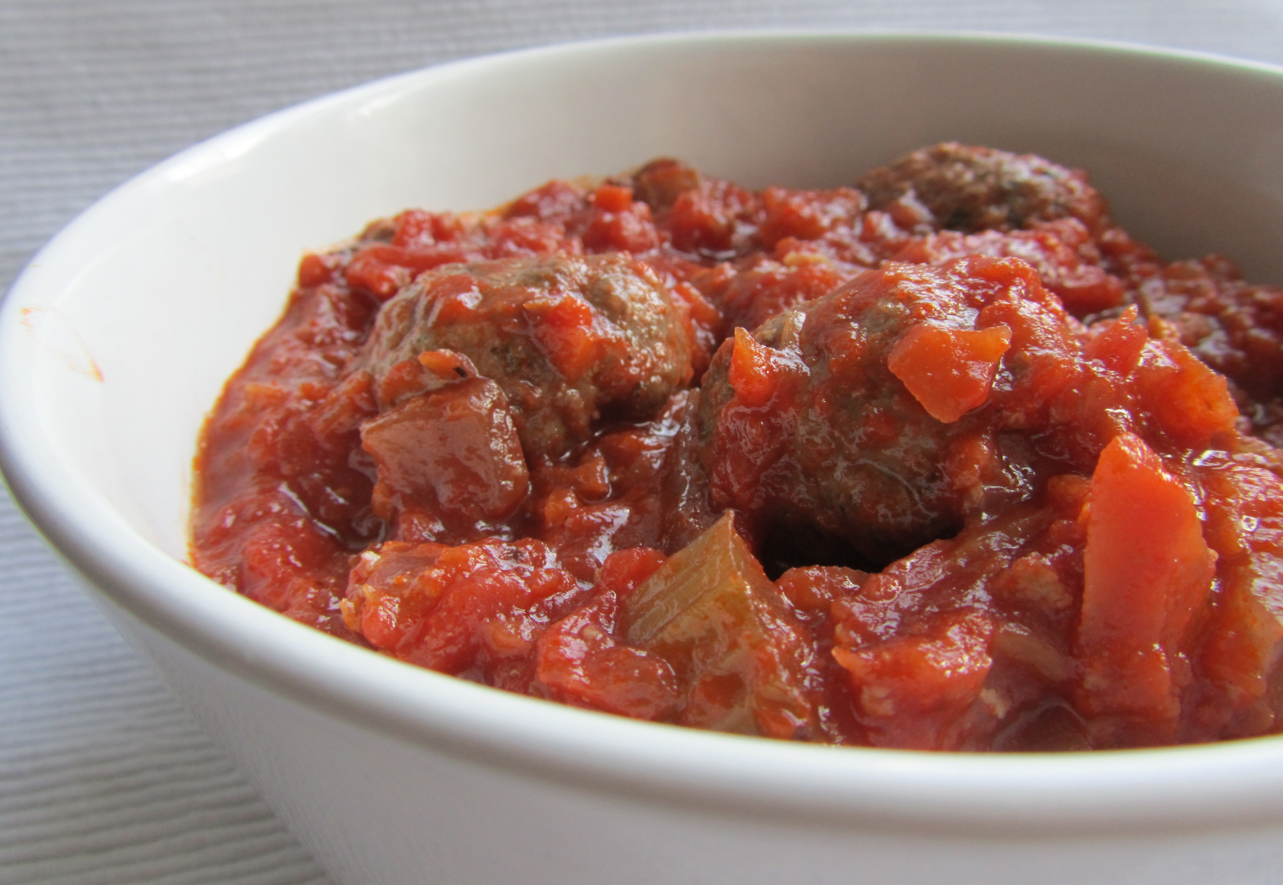 Meatballs in rich tomato sauce | Caramelised Blog