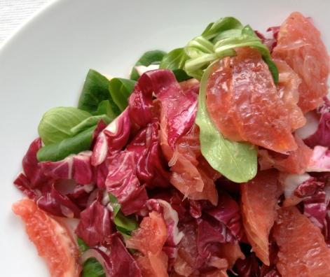 grapefruit salad