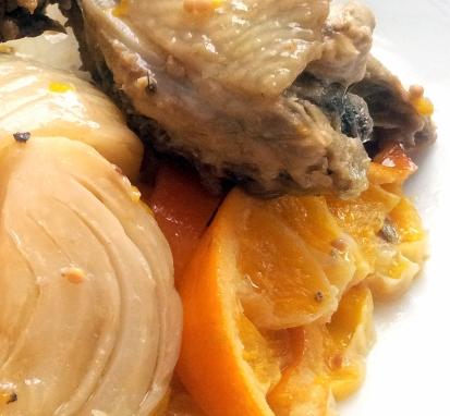 yotam orange fennel chicken roast ok ok