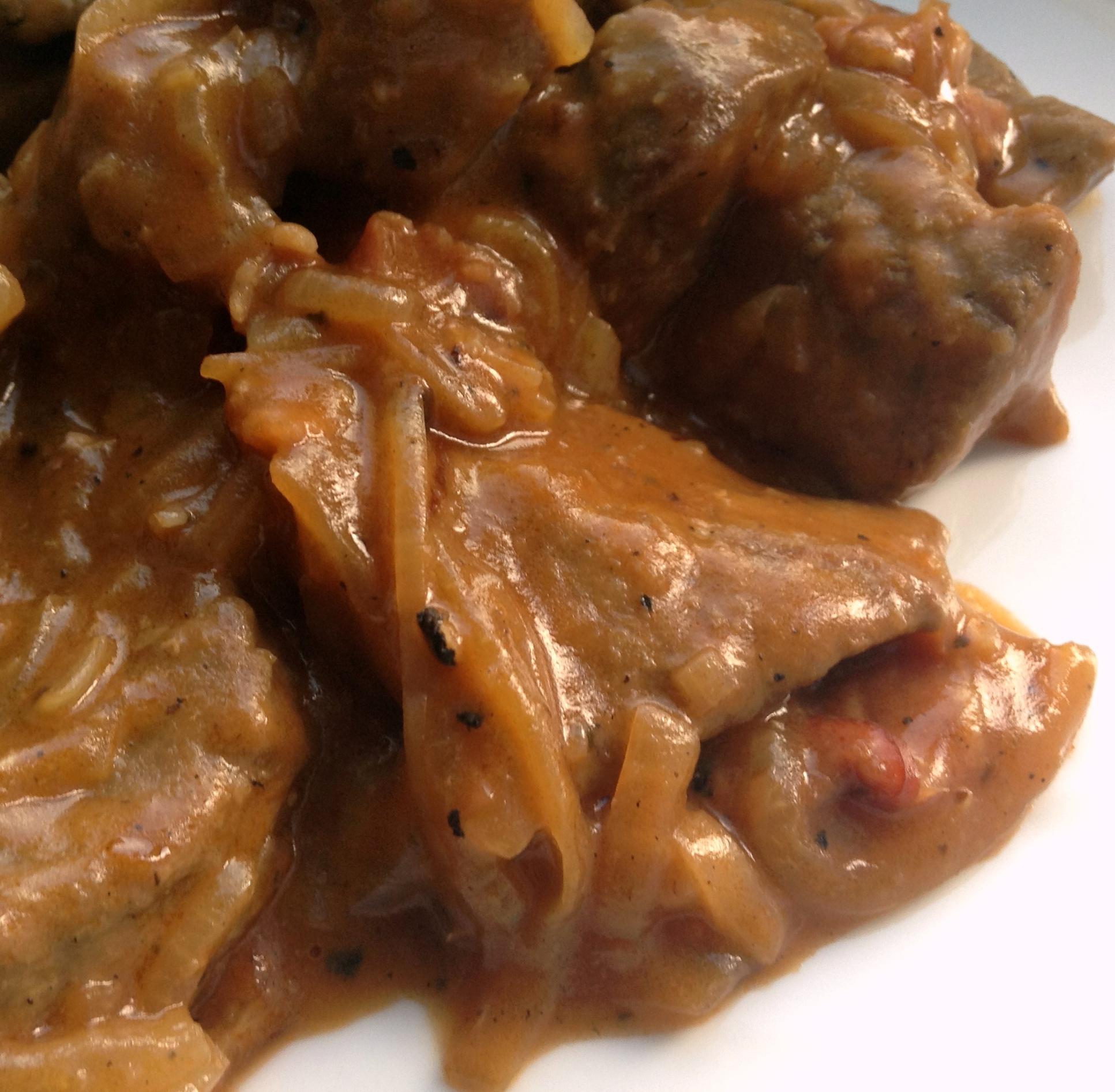 liver and onion gravy