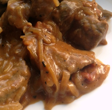 liver and onion gravy